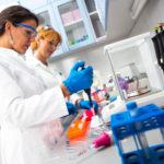 Laboratory workers